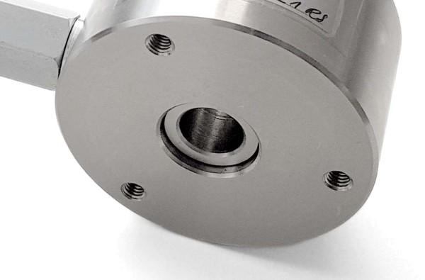 Befestigungsbohrungen für hydraulische Kraftmessdosen Ringform