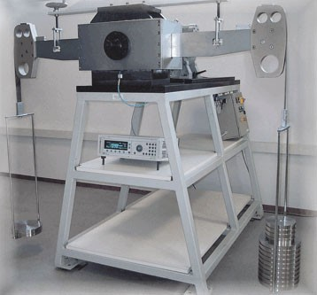 Kalibrierung Drehmomentaufnehmer nach EURAMET cg-14 (1 - 500 Nm)